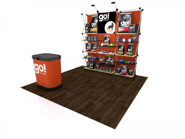 FG-115 Trade Show Pop Up Display -- Version 2c