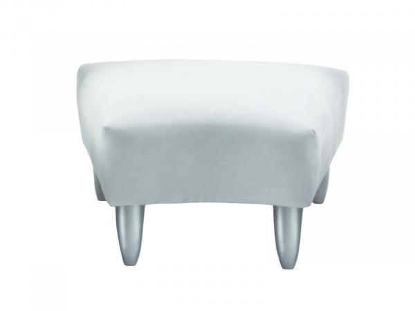 South Beach Wedge Ottoman -- Trade Show Rental Furniture
