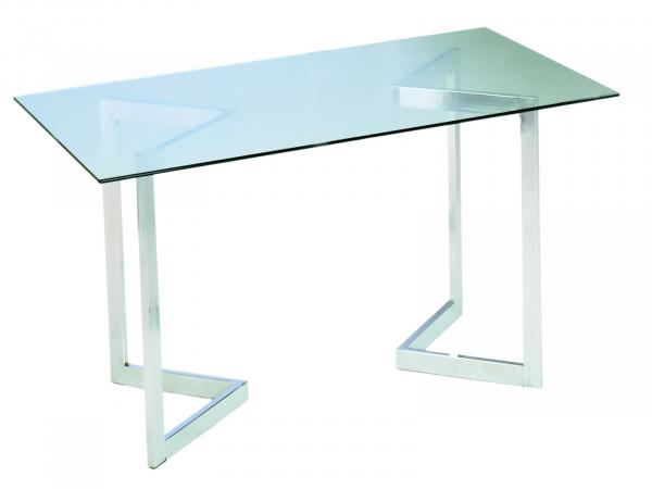 Geo Rectangle Table -- Trade Show Furniture Rental