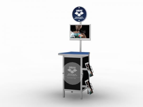 MOD-1232 Trade Show Workstation / Kiosk -- Image 1