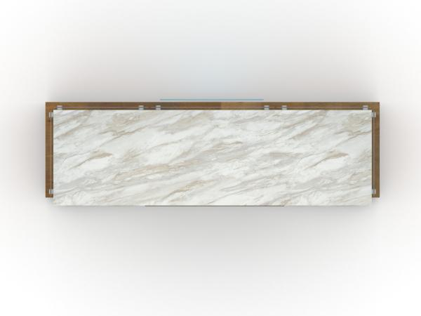 ECO-49C Sustainable Display Counter -- Plan View
