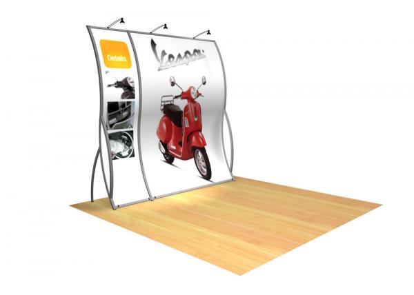 Perfect 10 VK-1500 Portable Hybrid Trade Show Display -- Image 1