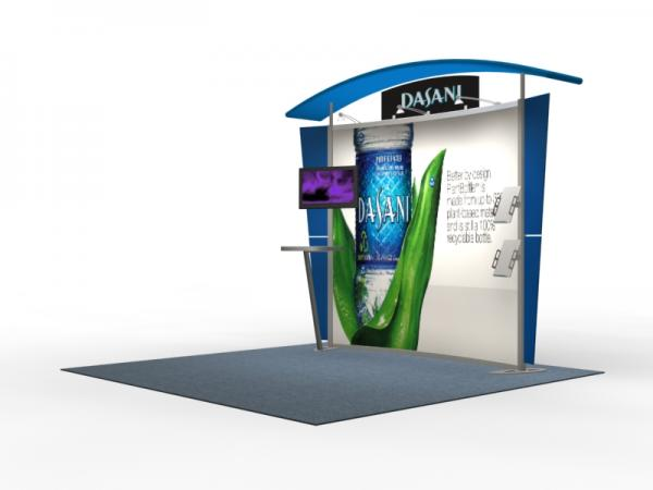 VK-1302 Trade Show Exhibit with Silicone Edge Graphics (SEG) -- Image 2