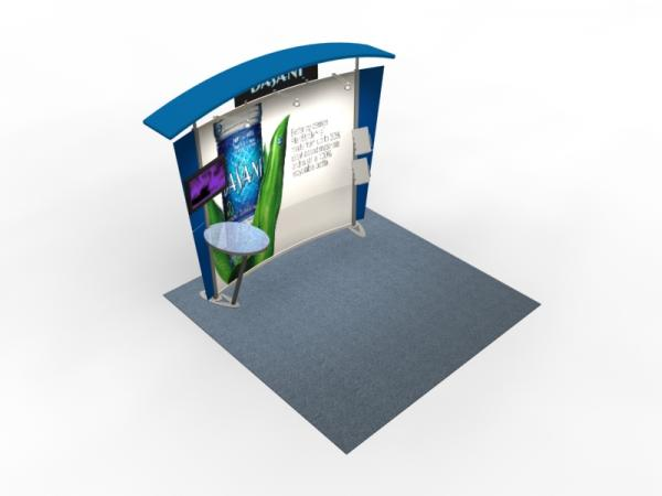 VK-1302 Trade Show Exhibit with Silicone Edge Graphics (SEG) -- Image 4