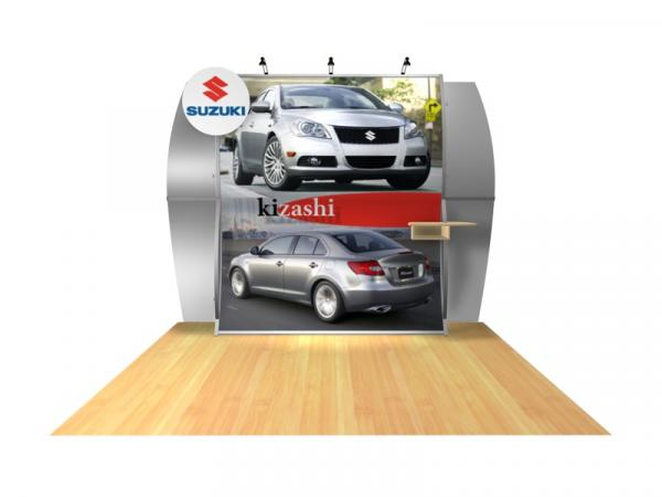 Perfect 10 VK-1511 Portable Hybrid Trade Show Display -- Image 2