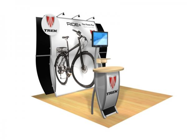 Perfect 10 VK-1513 Portable Hybrid Trade Show Display -- Image 1