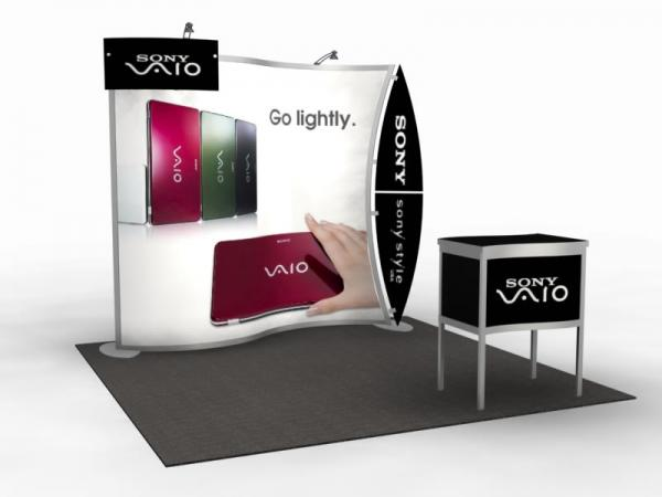 VK-1077 Portable Trade Show Display