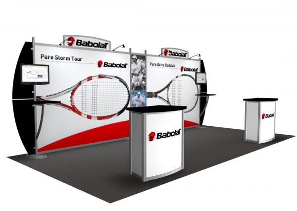 RE-2027 / Babolat Rental Display -- Image 1